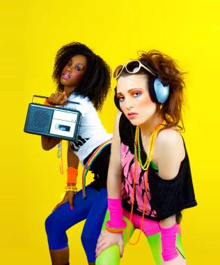 Ответы@Mail.Ru: дискотека 80х,стиль одежды.
