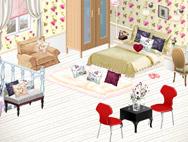 Игра для девочек — Спальня в японском стиле