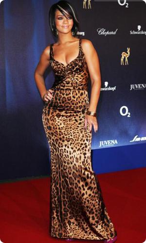 Знаменитости В Леопардовом Платье 93