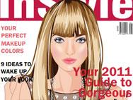 Макияж для модного журнала