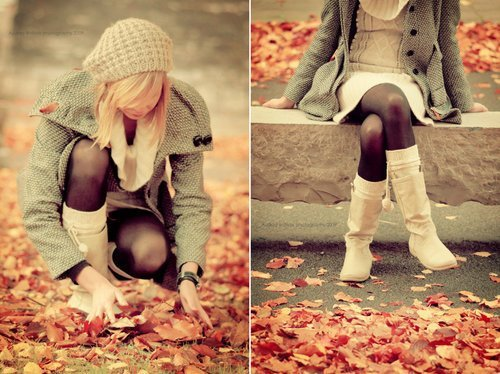 Осенняя красотка