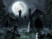 Ночь на кладбище (короткий рассказ)