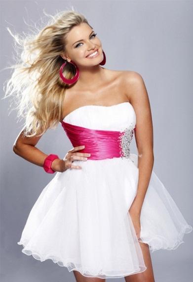Короткое платье!
