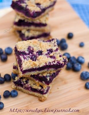 Печенье со вкусом ежевики, или черники.