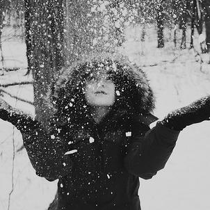 На аву девушке зима - f