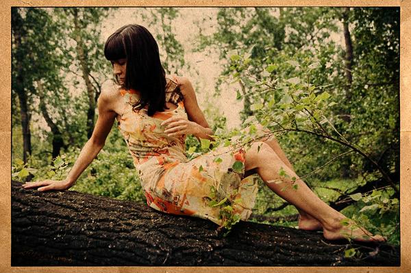 Ты девушка из леса!