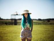 beautiful-blue-hair-country-farm-hat-Favim.com-441196