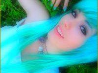Авики цветные волосы =) От Лучика!