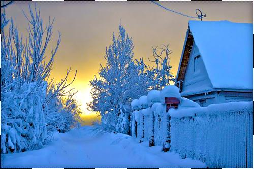 """«Картинка """"Зима.""""»"""