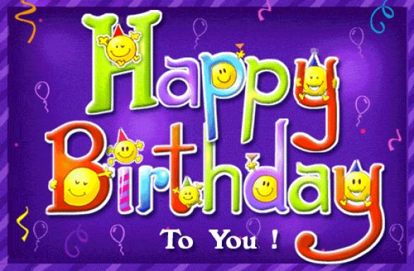 Поздравления с днем рождения прикольные на английском языке 65