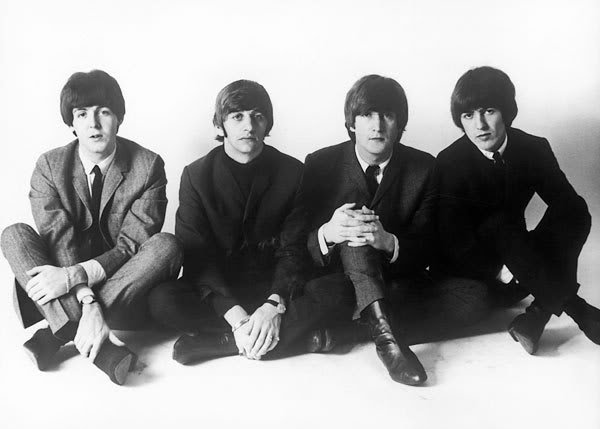 The Beatles Wallpaper Black And White Bl