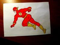 Мои супергеройские рисунки