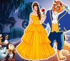 Красавица и чудовище — игра для девочек