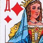 Рисунок профиля (Дама Бубен)