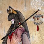Рисунок профиля (⛩Інарі-Тенко. (狐 帝)> V фон Фокс⛩כְּרֻבִים)