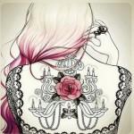 Рисунок профиля (♥Аминка♥)