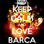 Рисунок профиля (•○♥Keep Calm and LOVE BarCa♥•○)