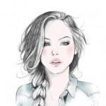 Рисунок профиля (Beautiful_Lady)