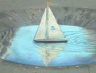 Julian Beever -рисунки на асфальте